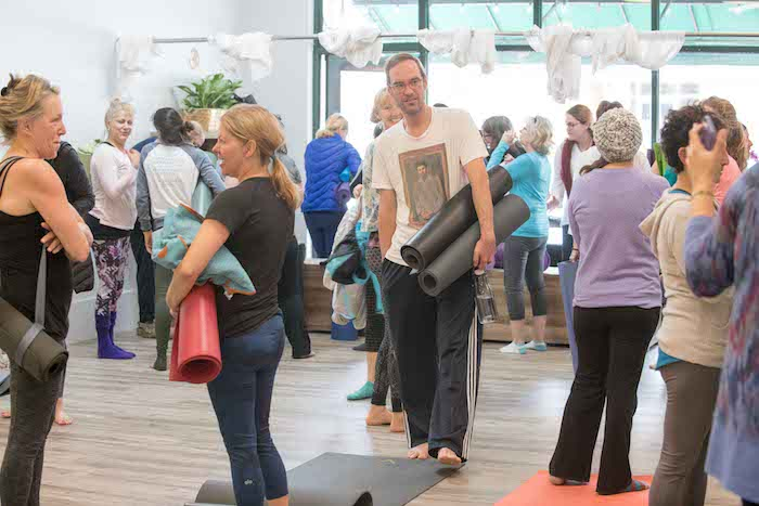 Grand Opening event at Yoga Daily Mount Pleasant