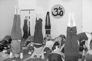 Headstands in Practice at Yoga Daily