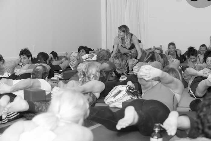 Teacher Assist in Yoga Daily Class